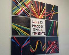 """camilowould: """"Dyi Above & Beyond Group Therapy decorations for my apartment. Finally finished and I couldn't be happier. """""""