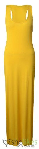 Womens Ladies Long Jersey Stretch Muscle Racer Back Plus Size Maxi Dress TopUK 16/18 AUS 16/18 US 12/14Yellow OutofGas Clothing,http://www.amazon.com/dp/B00ET5630I/ref=cm_sw_r_pi_dp_Wu7ktb0T73VAB3VC