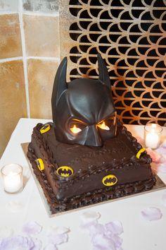 Batman Grooms cake