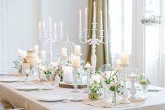 Wunderschön dekorierter Tisch