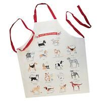 ALICE TAIT-FOOD - DRINK AND GIFTS-Novelty Gifts-Alice Tait Dogs Apron-£15.00-Adorned in stunning illustration of Great British dogs, this 100% cotton apron from Alice Tait is a perfect gift for a canine loving friend. Use it while cooking to avoid those accidental stains. Alice Tate creates charming illustrations heavily inspired by early printmaking and handwriting, which aim to capture some of the most exciting and beautiful bits of the UK. First graduating from Bath Spa University in…