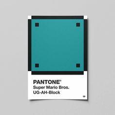 PANTONE Super Mario Bros. UG-AH-Block  #colorful #pantone #design #nerd #artwork #graphic #photoshop #graphicdesign #supermario #videogames #pixel #illustrator #color #vector #creative #geek #art #games #work #graphicdesigner #myart #artist #graphicdesigncentral #creative #artistic #colour #mario #simplycooldesign #designsheriff #graphicdesigncentral @pantone @nintendo @adobecreativecloud