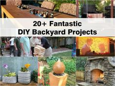 Turn your backyard into an outdoor paradise with concrete garden ornaments! Learn how to build your very own concrete projects for your garden. Concrete Projects, Backyard Projects, Outdoor Projects, Garden Projects, Diy Projects, Backyard Ideas, Concrete Garden Ornaments, Ec 3, D 20