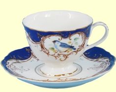 Teacups Bone China and Fine Porcelain Tea Cups many with matching Teapots