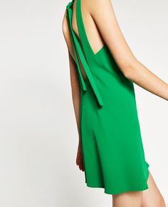 DRESS WITH LOW-CUT BACK-Collection-TRF-NEW IN | ZARA Israel