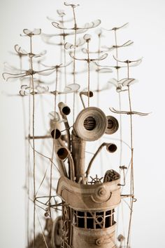 Beautiful Cardboard Airships by Jeroen van Kesteren – Fubiz Media