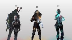 The Witcher 3 : The Elements. by vitalyaya