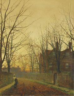 Late October, 1882, John Atkinson Grimshaw