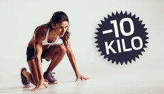 10 Kilo abzunehmen ist ein gewaltiges Projekt. Aber keins, das nicht zu  schaffen wäre! Sie müssen sich nur an unseren Plan halten