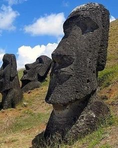 49. View the Statues on Easter Island - 50 Ultimate Travel Bucket List Ideas ... → Travel