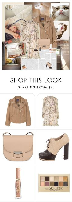 """""""Be Kind,Be Content"""" by rainie-minnie ❤ liked on Polyvore featuring Mikasa, MANGO, Zimmermann, CÉLINE, Chanel, Maybelline and Burberry"""