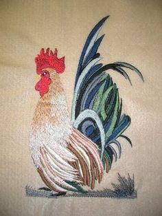 Free Brother Embroidery Designs | FREE EMBROIDERY DESIGN ROOSTER « EMBROIDERY & ORIGAMI