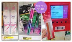 Dove Hairspray and Revlon Mascara, Only $0.40 at Target!