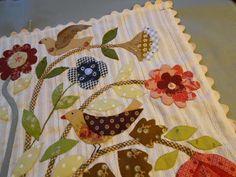 Love the use of fabrics!