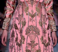 Valentino 2012: Needlepoint, Tapestry and Point de Croix