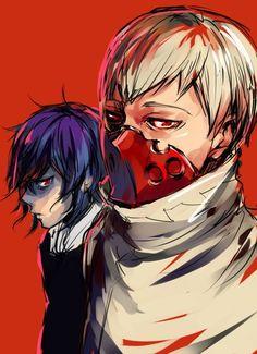 Tatara et Ayato - Tokyo Ghoul