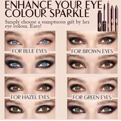 I have the gold one for blue eyes, works wonders.