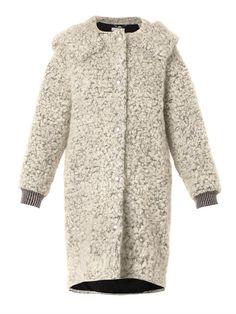 Clara mohair and wool-blend bouclé coat | Stella McCartney | M...