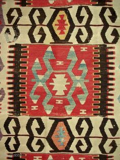Early Anatolian kilim panel >