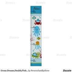 50% off till Thursday! Use code STUDYINSTYLE at checkout.  Ocean Dreams/Sealife/Fish Poster Growth Chart