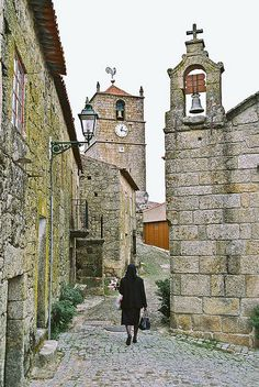 """All made of stone, tough like the """"lusitanos"""", our ancesters - the most traditional village of #Portugal - #Monsanto - Portugal 