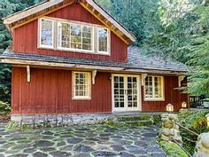 Swedish Stuga - Beautiful Unique Forest HomeVacation Rental in Rhododendron from @homeaway! #vacation #rental #travel #homeaway