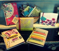Boxed note card sets and journals $7.95 - $10.95