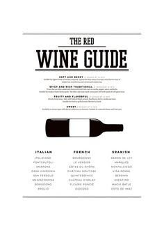 The red wine guide taulu.