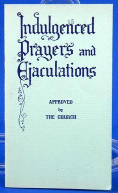 Indulgenced Prayers and Ejaculations Vintage Catholic Booklet 1940 Paulist Press 18628 by JacksonsMarket on Etsy