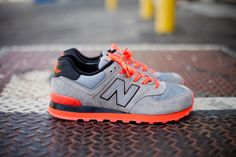 New Balance 574 « Infrared » could use these in my life lol