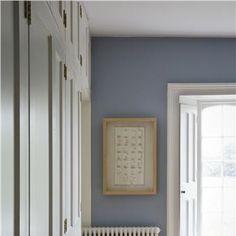 Bedroom in Lulworth Blue  Wimborne White