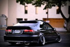 EK COUPE WITH SERIOUS CAMBER