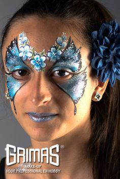 Mariposa - www.maquillador.eu, ejemplos de maquillaje