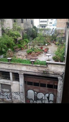Terrase in greece