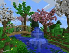 fab idea for a minecraft garden