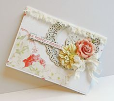 Erin Blegen: My Scrap Cabin: Webster's Pages: Growing Up Girl! Wedding Anniversary Cards, Wedding Cards, Growing Up Girl, Websters Pages, Shabby Chic Cards, Cool Cards, Greeting Cards Handmade, Scrapbook Cards, Cardmaking