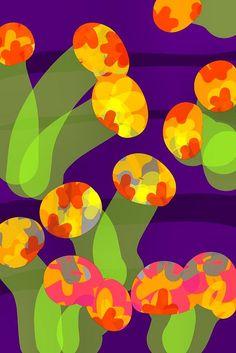 my floral mushies, imakimou