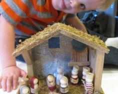 Winter Crafts Kids Can Make Nativity