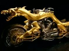 This Insane 'Dragon Bike' Was Made For A Chinese Client Using 3D Printing  Read more: http://www.businessinsider.com/occ-built-this-insane-3d-printed-dragon-chopper-2014-4#ixzz30WpOZgwA