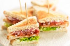 Children's club sandwich recipe - and other recipes