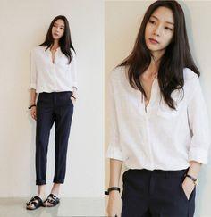 23 Ideas For Fashion Inspo Summer Casual Outfit Ideas Black Women Fashion, Look Fashion, Korean Fashion, Fashion Outfits, Womens Fashion, Fashion Trends, Ladies Fashion, Feminine Fashion, Fashion Ideas