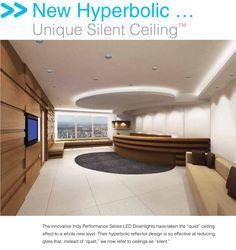 reception lighting/ soffit design