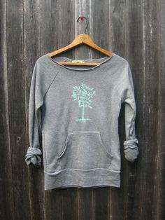 little seedling Tree Sweatshirt super soft by nicandthenewfie, $36.00