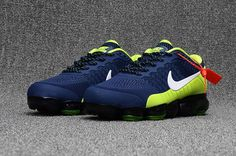 This new colorways of Nike Air Vapormax features a navy circular ventilated  mesh upper,and