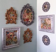 Pretty way of displaying a Disney pin collection while leaving room for the collection to grow! Disney Home Decor, Disney Diy, Disney Crafts, Walt Disney, Disney Souvenirs, Disney Trips, Disney Travel, Pin Collection Displays, Disney Pin Display