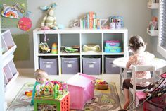 Playroom ideas for the new place