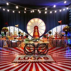 Carnival - Circus Party Inspiration | Dentro Da Festa Blogspot #dentrodafesta