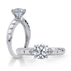 Bliss : Engagement Ring : WS302D | Peter Storm Jewelry