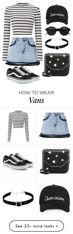 """Untitled #103"" by alexandrabryant004 on Polyvore featuring Marc Jacobs, Miss Selfridge, WithChic, Vans and STELLA McCARTNEY"