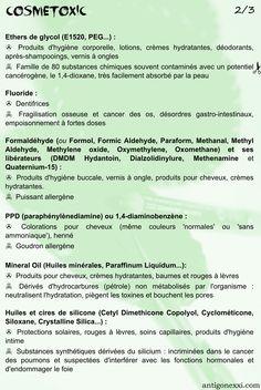 Les substances toxiques à éviter dans les cosmétiques 2